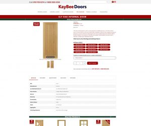 Kaybee Doors Product Page