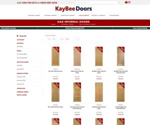 Kaybee Doors Category Page